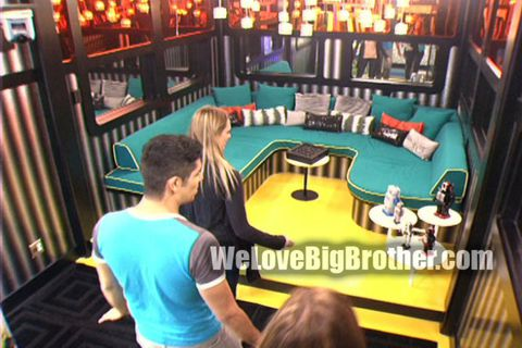 Big Brother 14 house – lounge