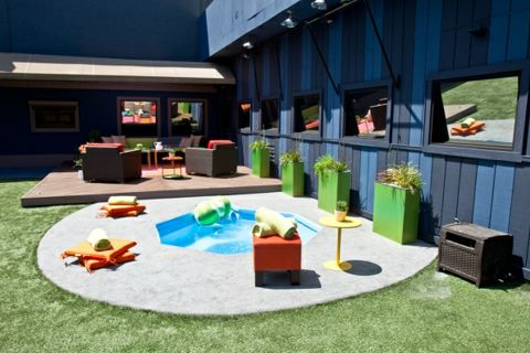 Big Brother 14 House – Backyard