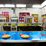 Big Brother 14 House - Kitchen