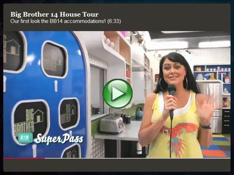 Big Brother 14 house tour video