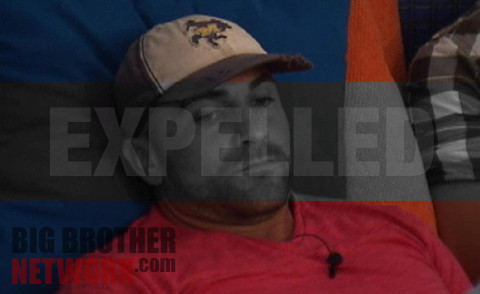 Big Brother 14 Willie Hantz expelled