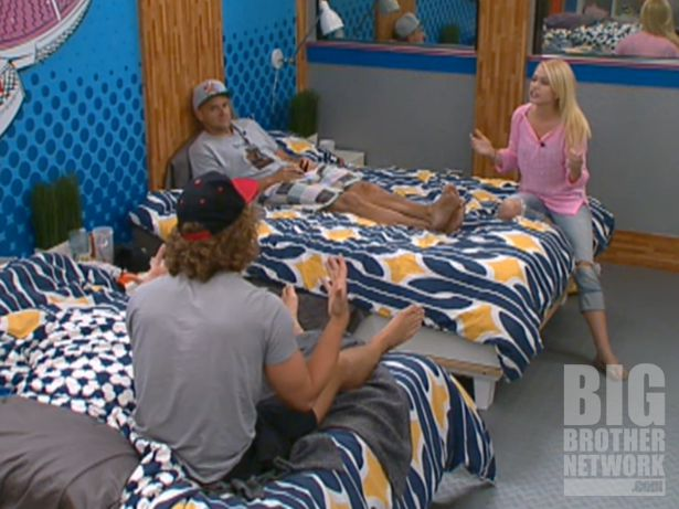 Frank, Boogie, and Britney on Big Brother 14