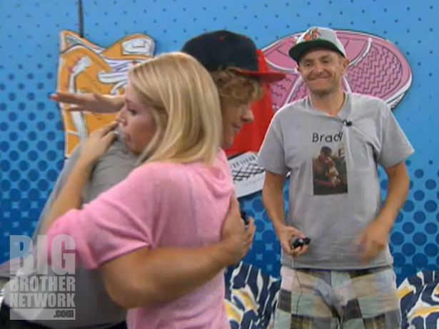 Britney, Frank, and Boogie on Big Brother 14