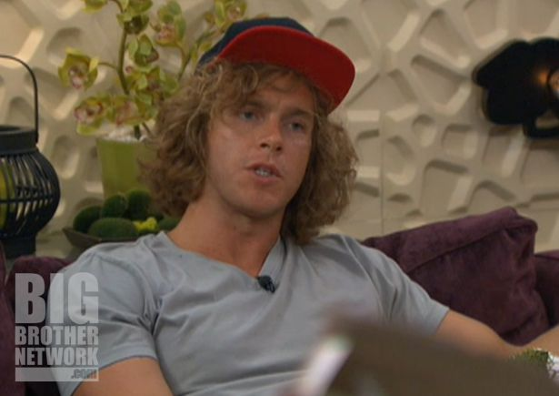 Frank Eudy on Big Brother 14