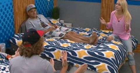 Boogie, Frank, and Britney on Big Brother 14