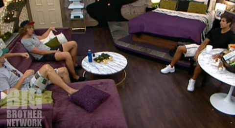 Shane, Boogie, and Frank on Big Brother 14