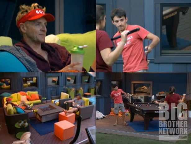 Big Brother 14 – Post Veto quad view
