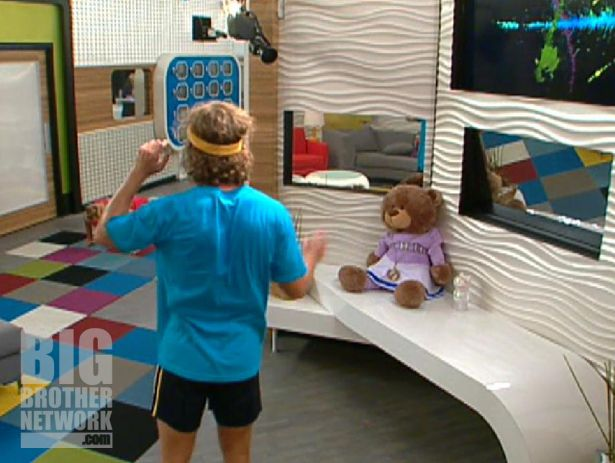 Ted and the Veto medallion - Big Brother 14
