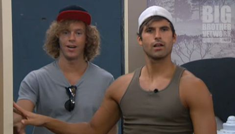 Frank and Shane on Big Brother 14