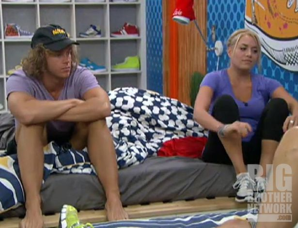 Frank and Ashley on Big Brother 14