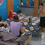 Jenn, Frank, Ian, and Boogie on Big Brother 14
