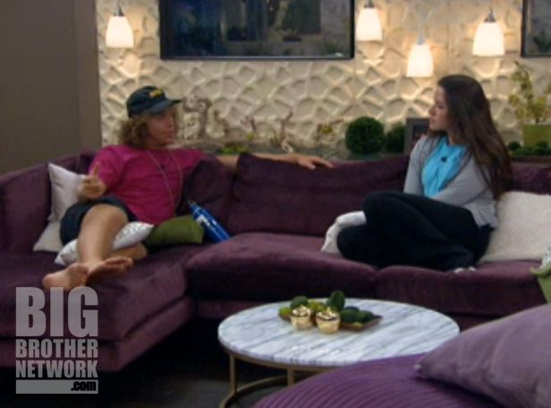 Frank and Danielle on Big Brother 14