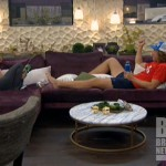 Britney and Frank on Big Brother 14