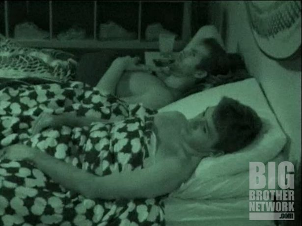 Ian and Shane share a bed on Big Brother 14