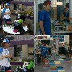 Quad view after Week 7 nominations on Big Brother 14