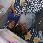 Danielle crying with Shane on Big Brother 14