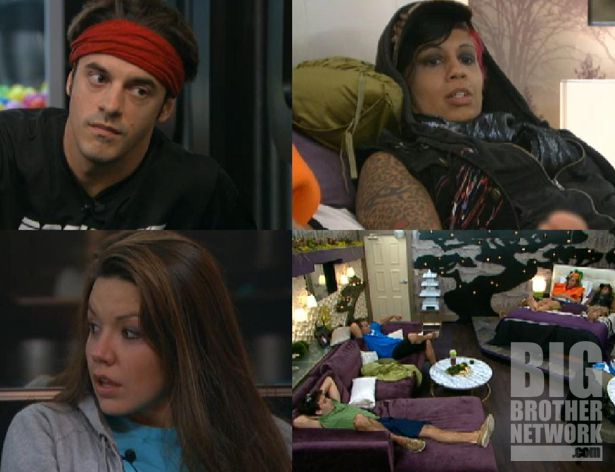 HGs after house meeting on Big Brother 14