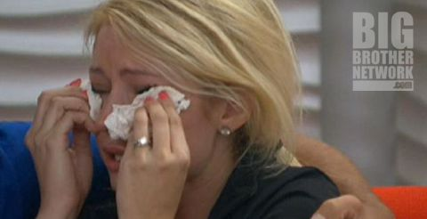 Britney crying on Big Brother 14