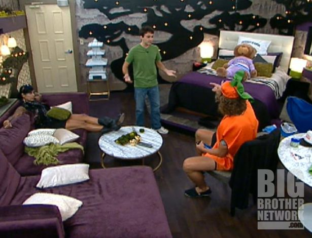 Big Brother 14 – Frank & Ian after Veto comp