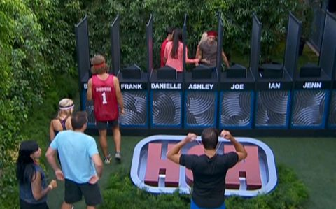 Ian wins HoH on Big Brother 14
