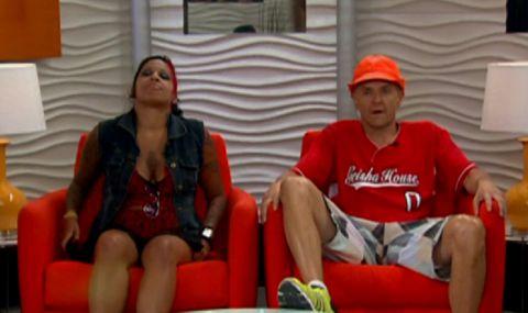 Jenn Arroyo and Mike Malin on Big Brother 14