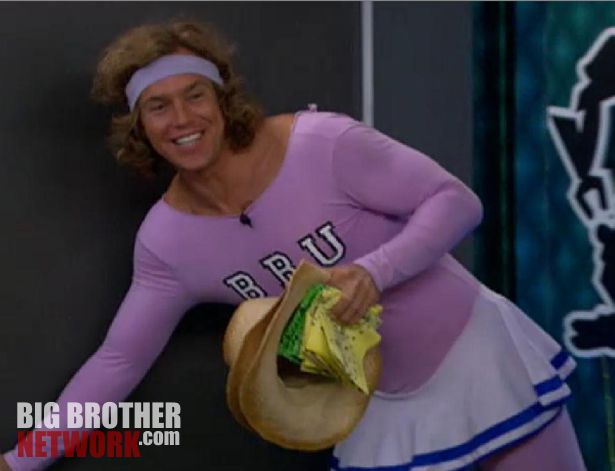 Frank announces Have-Not comp – Big Brother 14