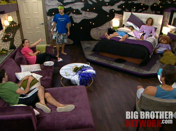 Nominee discussion in HoH room – Big Brother 14