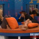 Frank works Janelle - Big Brother 14