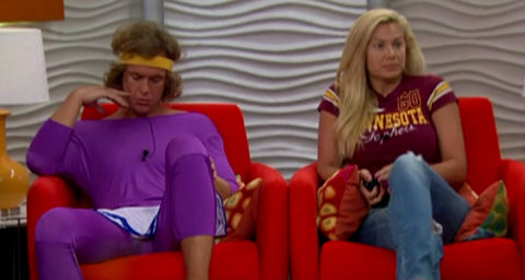 Big Brother 14 nominees: Frank and Janelle