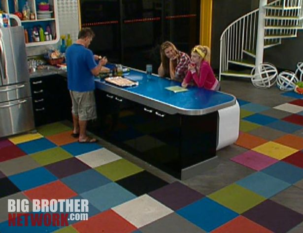 Joe, Wil, and Britney – Big Brother 14