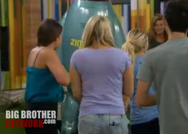 Big Brother 14 - Zingbot visits