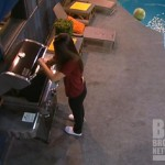 Danielle grills the monkey on Big Brother 14