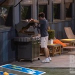 Ian saves the monkey on Big Brother 14