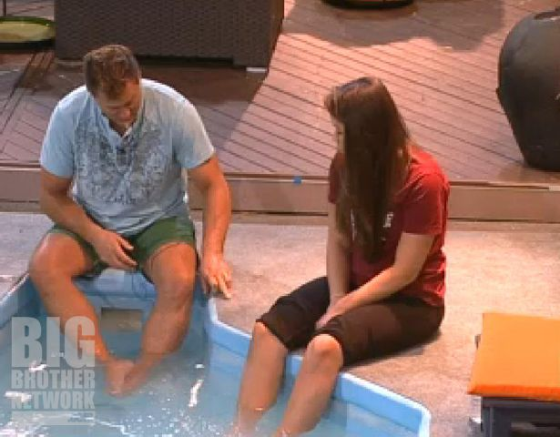 Joe and Danielle on Big Brother 14