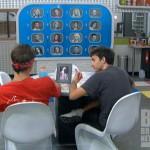 Big Brother 14 - Dan and Ian study the memory wall