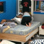 Big Brother 14 - Shane and Danielle wrestle
