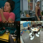 HGs react after the Veto comp on Big Brother 14