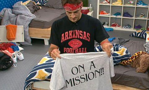 Dan Gheesling on Big Brother 14