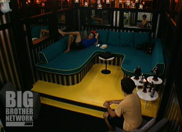 Dan and Ian on Big Brother 14