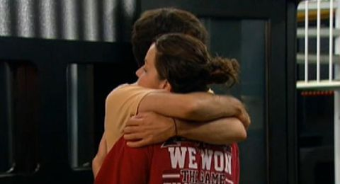 Ian and Danielle on Big Brother 14
