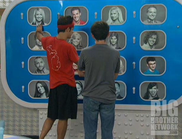 Dan and Ian study the Memory Wall on Big Brother 14