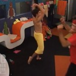 Dan and Ian celebrate on Big Brother 14