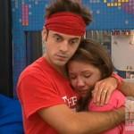Dan comforts Danielle on Big Brother 14