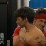 Dan hugs Ian on Big Brother 14