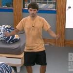 Ian Terry celebrates on Big Brother 14