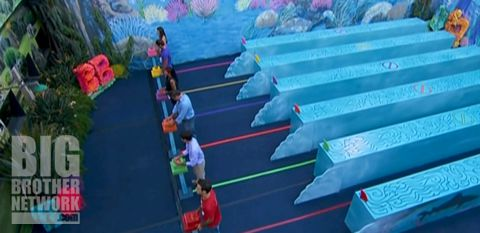 Big Brother 14 episode 26 Veto comp