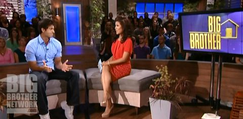 Shane Meaney and Julie Chen on Big Brother 14