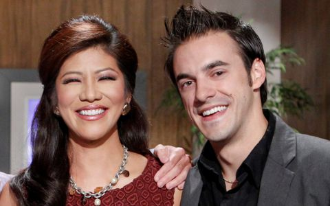 Big Brother 14 - Dan Gheesling with Julie Chen