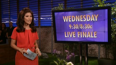 Big Brother 14 Finale with Julie Chen