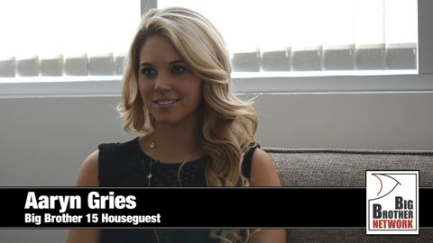 Aaryn Gries - Big Brother 15 HG